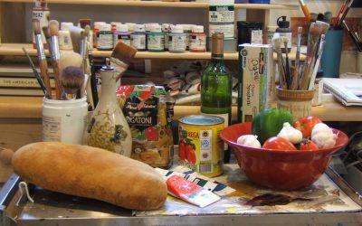 Garlic, Anchovies, Anxiety, and Art