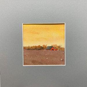 Little Red Barn wc 4x4 8x8 50